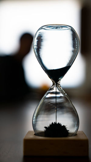 Waiting... Accuracy Clock Close-up Deadline Focus On Foreground Glass - Material Hourglass Indoors  Instrument Of Measurement Instrument Of Time Land Nature No People Sand Still Life Table Time Transparent Urgency Wood - Material