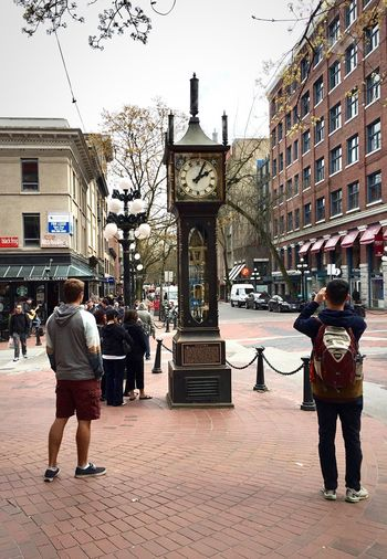 Gastown Steam Clock Gastown Vancouver. Vancouver, Canada Steam Clock