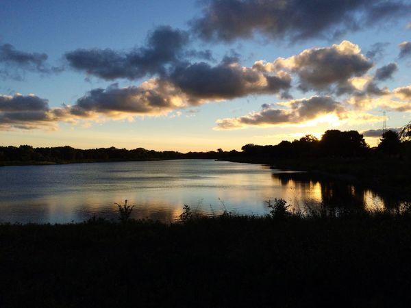 Sunset Sunset Scenics Lake Beauty In Nature Nature Nature Photography EyeEm Best Shots