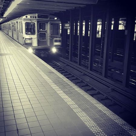 Streetphotography Travel Trains Septa  Broadstreet Philly Subway InstaTags4Likes