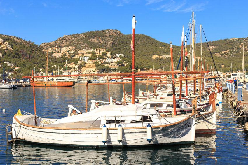 Andratx Boat Boats City Clear Sky Day Lake M Mallorca Nautical Vessel No People Outdoors Port Puerto Sky SPAIN Sunlight Water
