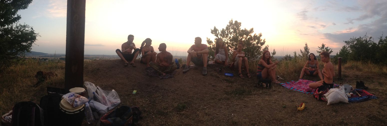 Friends piknick