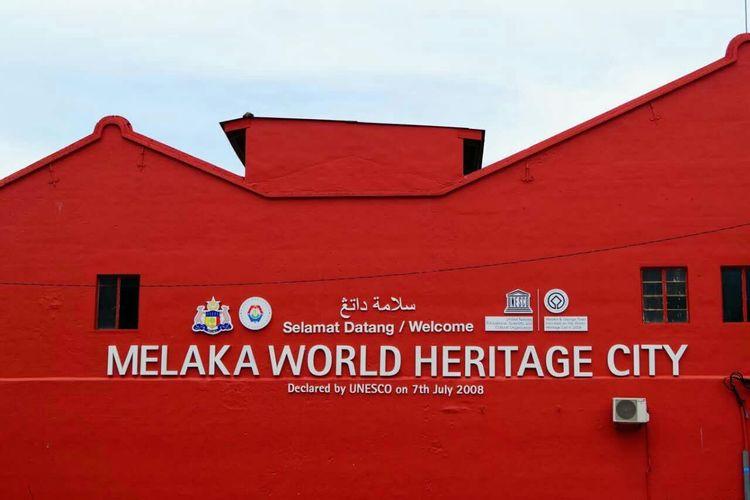 Melaka Malacca UNESCO World Heritage Site Red House Stadhuys Dutch Historical Landmark