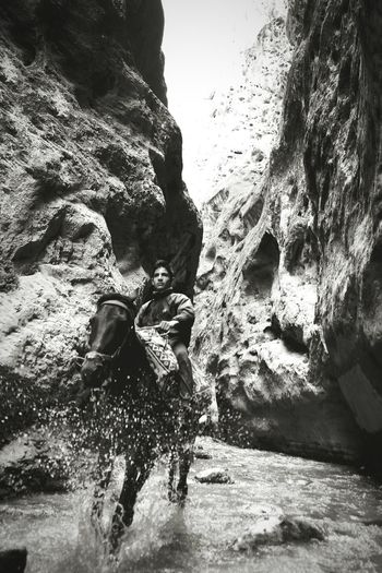 Photography Bnw Blacknwhite Black And White Horse Mountain Iran Water Milad Hajizade EyeEm