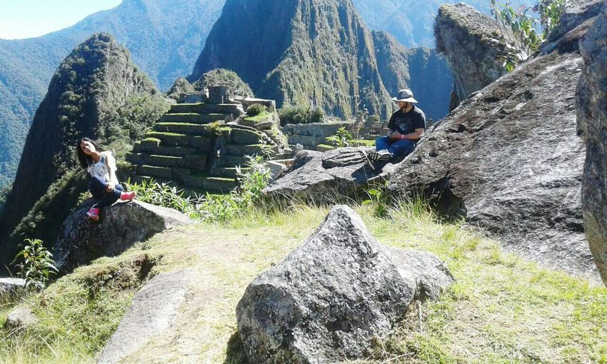 Cusco, Peru Mountain Tranquil Scene Tranquility Old Ruin Tourism Non-urban Scene Forest Landscape Scenics Ancient The Past Mountain Range History Travel Destinations Nature Valley Sunny Outdoors Beauty In Nature Overgrown Architecture