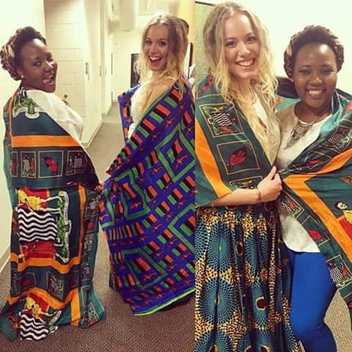 When the smiles are brighter and the love is bigger! We proud Zambian people Zambiansisters Nshimalovers