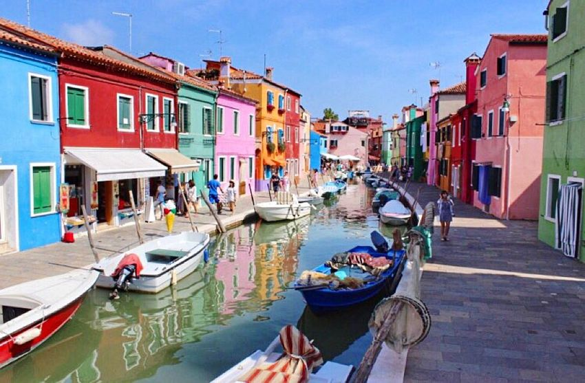 Color is like music - it uses a shorter way to get to our senses, to awaken our emotions. Burano Venice Italy Protecting Where We Play Hello World Wanderlust Quotes Island Traveling Travel Photography
