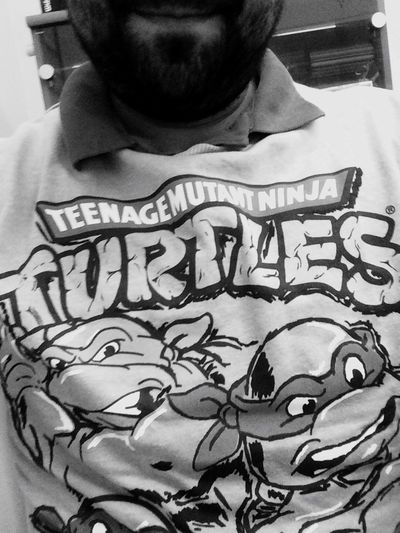 Check This Out That's Me Taking Photos Selfie ✌ Beard Turtlesninja