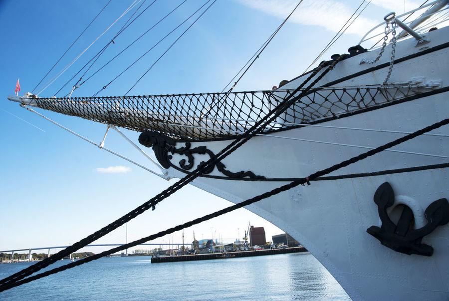 Gorch Fock I, Stralsund, Old Harbour, Unesco Ship Gorch Fock Harbor Old Sailing Sailing Ship Sailor Sea, Stralsund Sky Stralsund