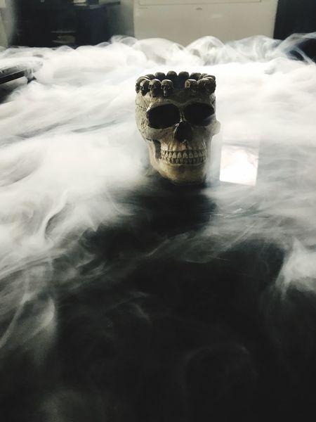 Skull Skulls Cendrier Tete De Mort