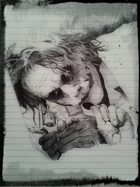 Art Enjoying Life Awesome The Joker