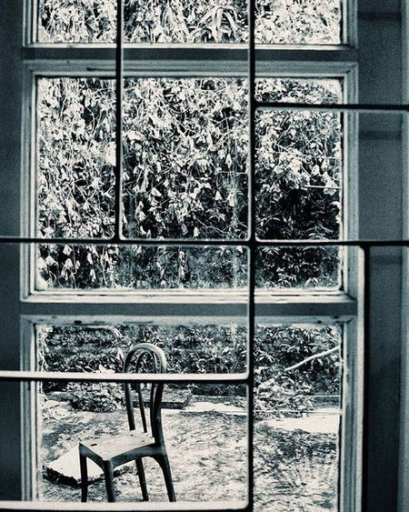 Mood today. Inviting no one. Just my Breath knocking on the panes. Fogging up the glass and showing me signs of solitude.. Whpidentity