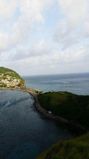 The Atlantic Ocean The Caribbean Sea Dominica Scotts Head Hidden Gems