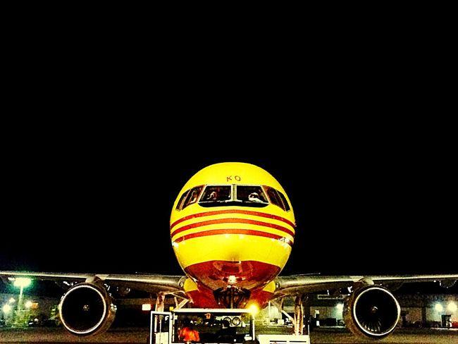 Boeing Aviation Aviationphotography Aviationlovers Avgeek Freighter Boeinglovers 757 Dhl DHLExpressCo