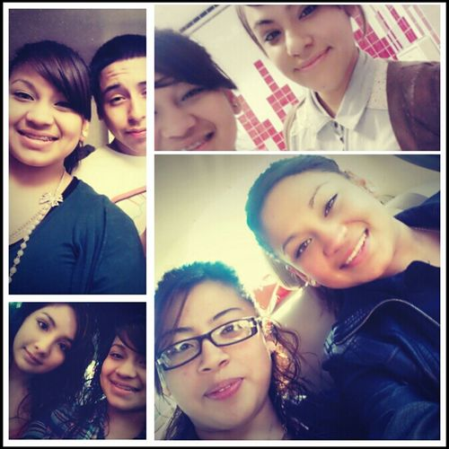 only 4 people that have literally always been there for me (: my bestfriends ♥