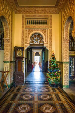 Palacio de Valle Arabic Patterns Inner View Palace