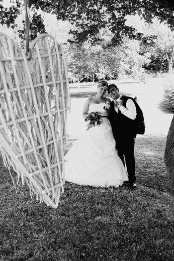 Wedding Bride Two People Wedding Dress Love Bridegroom Togetherness Married Husband Wife Life Events Celebration Suit Outdoors Bonding Newlywed Wedding Ceremony