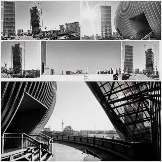 Skyline B/w City