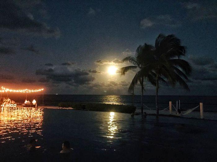 Moon Beach Moon