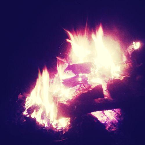 Superbowl Bonfire!!!!:)