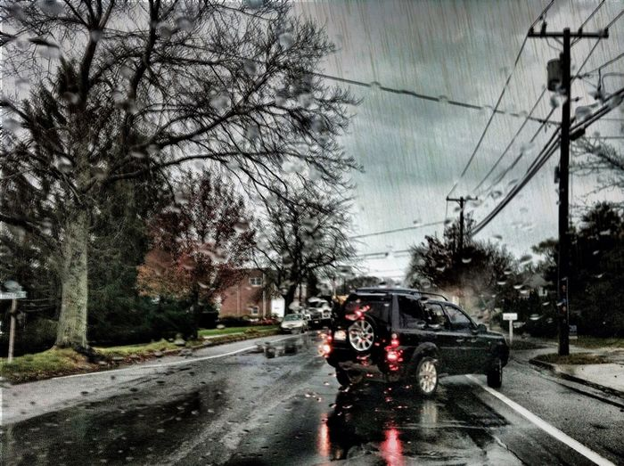 Rainy afternoon. in East Quogue Rainy Afternoon.