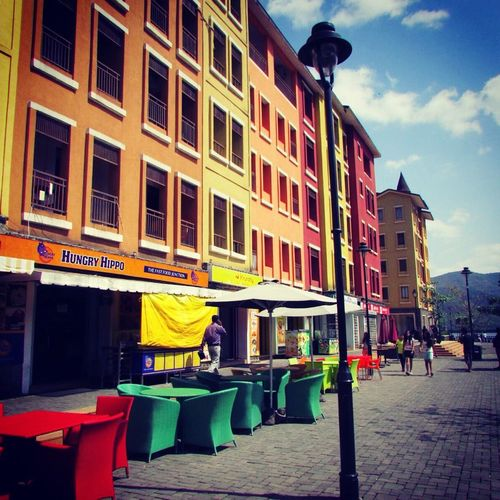 Lavasa Street Colours Are Everywhere Bright And Light Peace Wid Ease