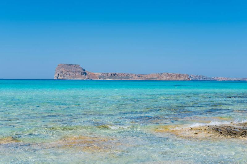 Balos beach, Crete, Greece Balos Balos Beach Balos Lagoon Vacations Blue Clear Sky Gramvousa Greece Horizon Over Water Scenics Sea Summer Tranquil Scene Travel Destinations Turquoise