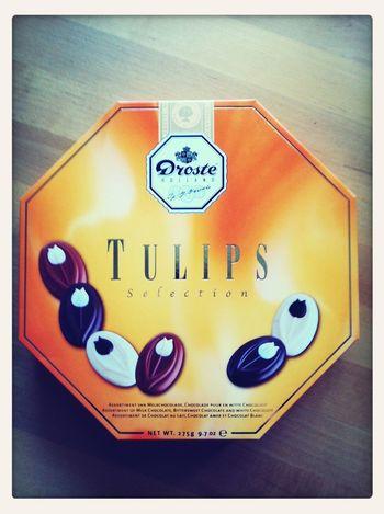 Sain tuliaisia Hollannista, maistuis varmaan sullekin. Chocolate