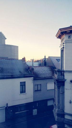 Morning Snow Sunrise