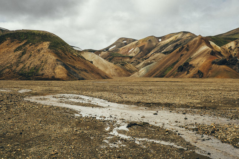 Iceland Landscape_Collection Beauty In Nature Day Iceland_collection Landmannalaugar Landscape Mountain Nature No People Outdoors Scenics Sky