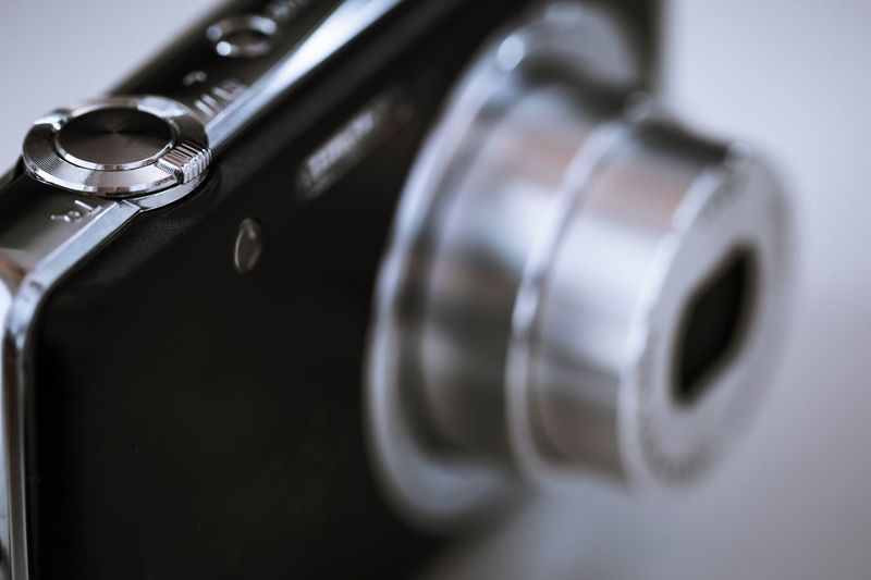 Close-Up View Of Camera