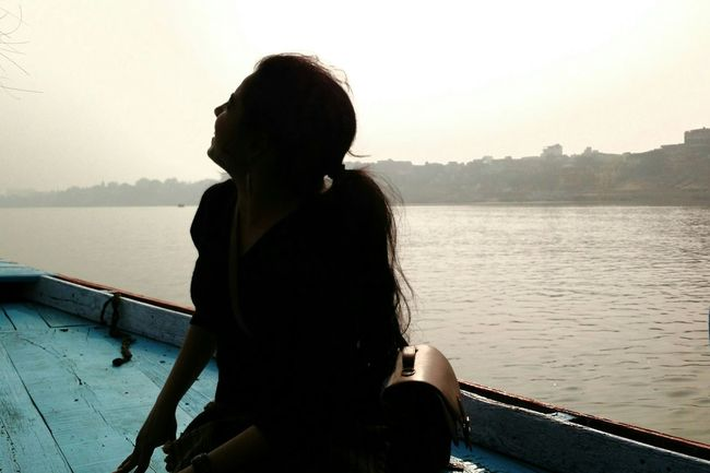 Pastel Power Ganges River Varanasi Ghats First Eyeem Photo Shotonphone
