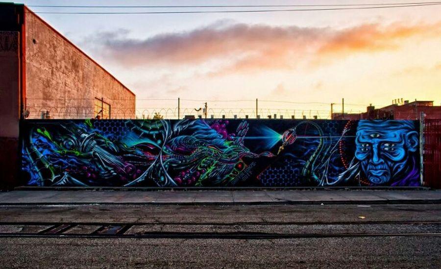 Graffiti Street Art Art Urban Art Mural Oakland Oakland Graffiti Bay Area Graffiti Ernest Doty Eon75 Griffin One