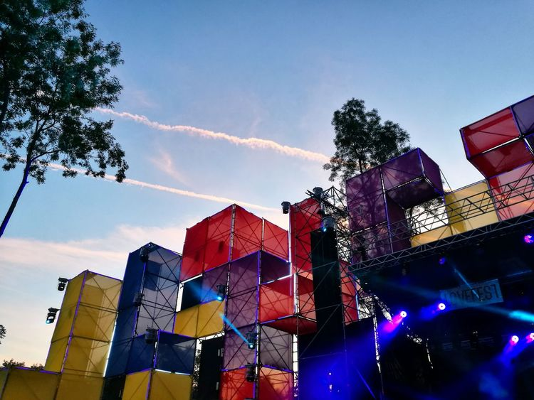 Outdoors Sky Multi Colored Music Festival Lovefest Summer Festival