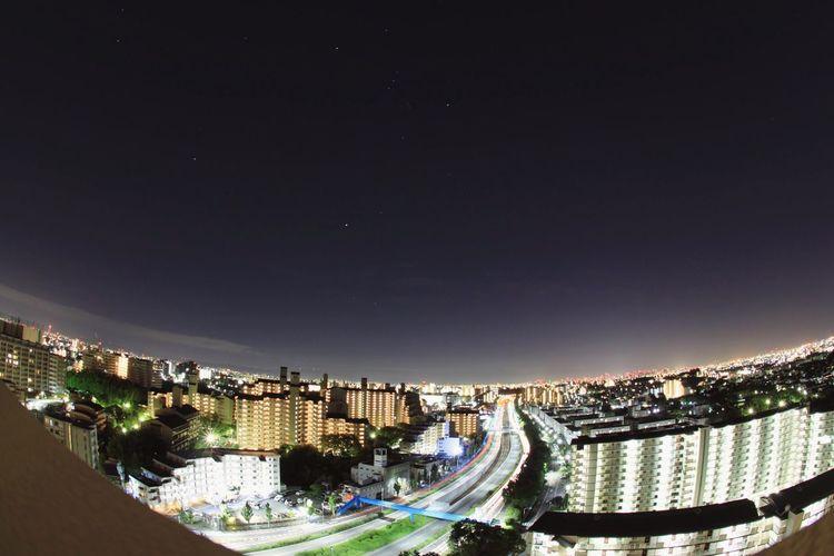 City Night Dark Yolo Stars Orion Sírius