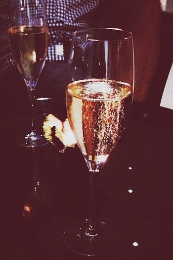 Keeping it classy at Bethany's champagne birthday.