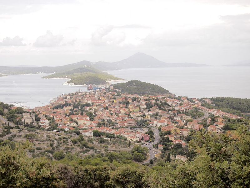 Croatia Day Fresh On Eyeem  From The Clouds Idyllic Landscape Mali Lošinj Mountain No People Olympus Olympus E-PM1 OlympusPEN Scenics Sea Sky Top Down View Town TOWNSCAPE Travel Photography Water Zuiko Zuiko Digital My Year My View