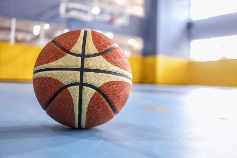 Ball Basketball - Sport Close-up Day Focus On Foreground Indoors  No People Sport Sports Equipment Team Sport