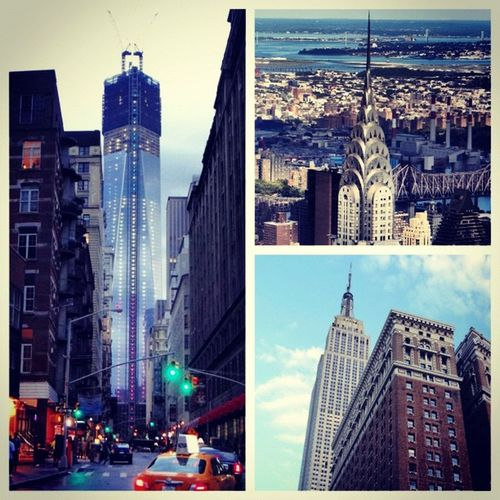 #NewYork Towers #empirestate #cryslerbuilding #freedomtower Newyork Freedomtower Empirestate Cryslerbuilding
