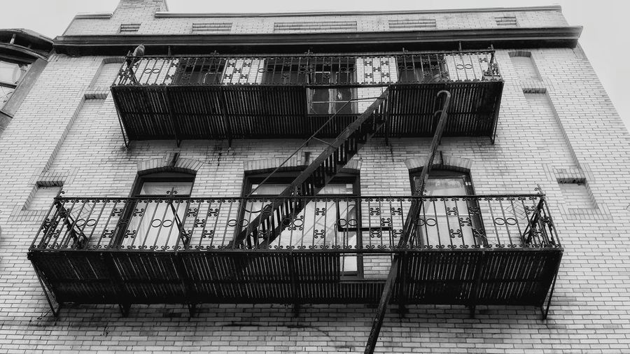 Balconies Iron Work Stairways Architecture_collection Wrought Iron Design Little Italy Section Walking Around The City  City Life Urbanphotography