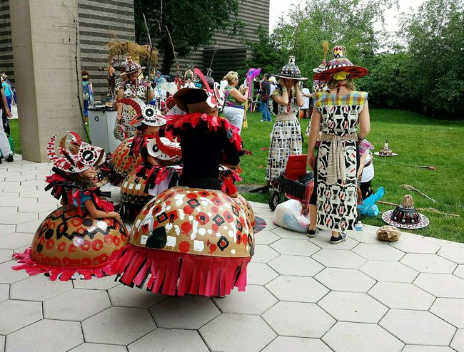 Parade The Circle at the Cleveland Museum Of Art Happy Children Creative Costumes Museum Street Photography People Photography The Street Photographer - 2015 EyeEm Awards The Photojournalist - 2015 EyeEm Awards