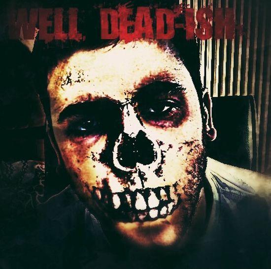 Zombie Halloween Portrait Scary Dude