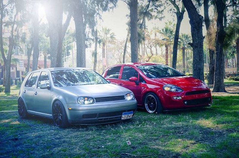 💀🚘 VW Vwbug Golf Mk4 GTI Fiat Punto ItalyNation Adpteam Amigos Wheelswap Lowered Fitment Simplyfitment Enkei Volkwheels Grey Greymatte HDphoto Photographer Photooftheday