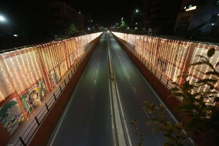 my city at night.. Bridge - Man Made Structure Connection Illuminated Architecture Outdoors