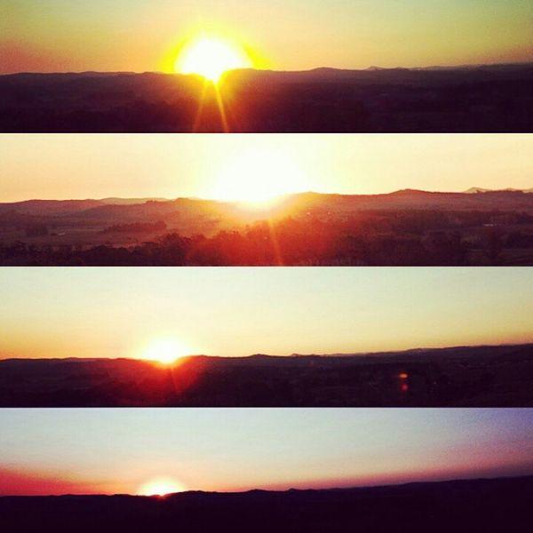 Foto vieja pero de las que aunque pasen años siguen provocandote una sensacion linda en el pecho😊 Amor Sunset Sun Clouds Clouds And Sky Orange
