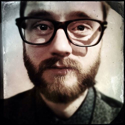 MARK LERUSTE @markleruste Hipstamatic Portrait Hipster