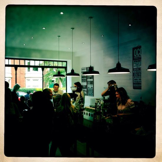 Harvast. Jesmond Ouseburn Coffee Company OCC Jesmond