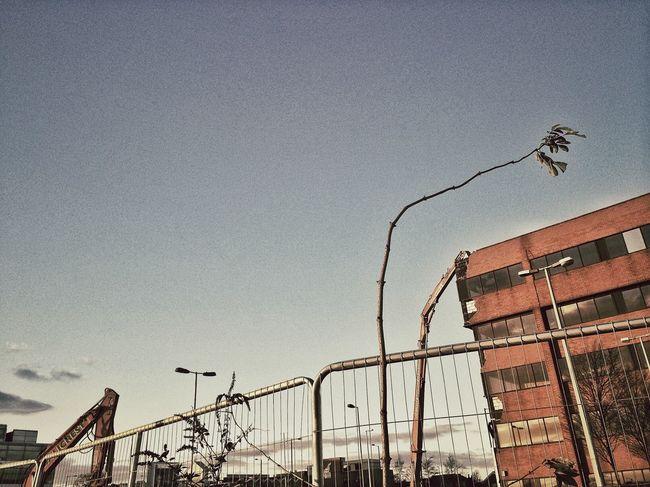 Demolition near heathrow The Architect - 2014 EyeEm Awards