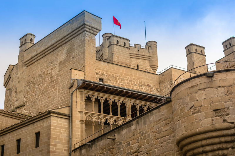 Happy New Year 2018 Navarra Olite The Week On EyeEm EyeEm Selects EyeEmNewHere Architecture Flag Patriotism History Government Building Exterior Low Angle View Politics And Government Politics Day Travel Destinations No People Outdoors Built Structure Sky City