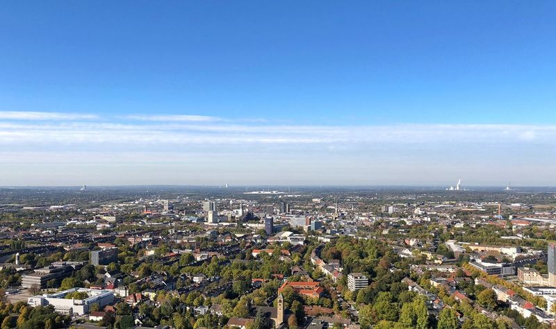 Westfalenpark ShotOnIphone Dortmund Building Exterior Sky City Cityscape Architecture Built Structure Nature High Angle View